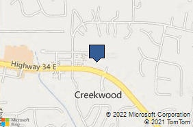 Bing Map of 3500 Highway 34 E Ste 4 Sharpsburg, GA 30277