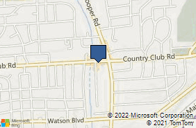 Bing Map of 3502 Country Club Rd Endwell, NY 13760