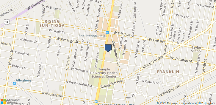 3509 N Broad St Philadelphia, PA, 19140 Map