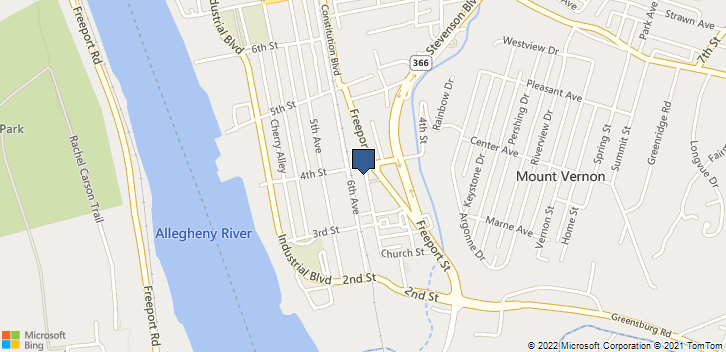 353 Main St New Kensington, PA, 15068 Map