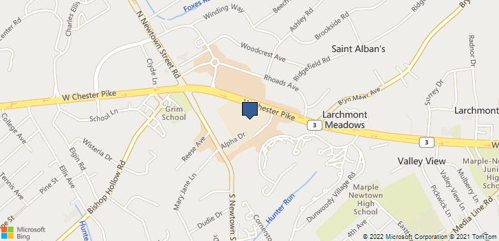 3534 West Chester Pike Newtown Sq, PA, 19073 Map