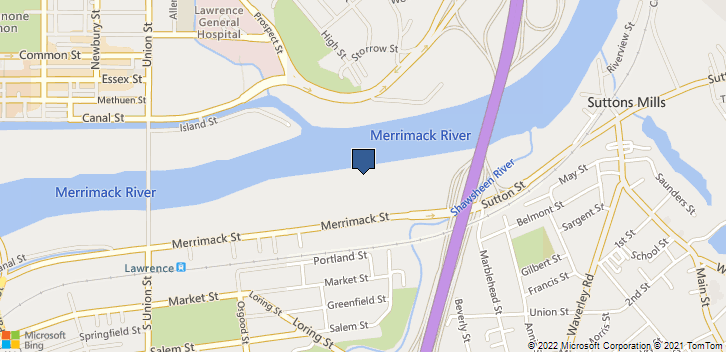 354 Merrimack St Lawrence, MA, 01843 Map