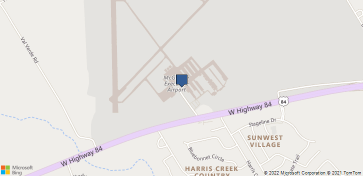 355 Mcgregor  Airport  Rd. Mcgregor, TX, 76657 Map