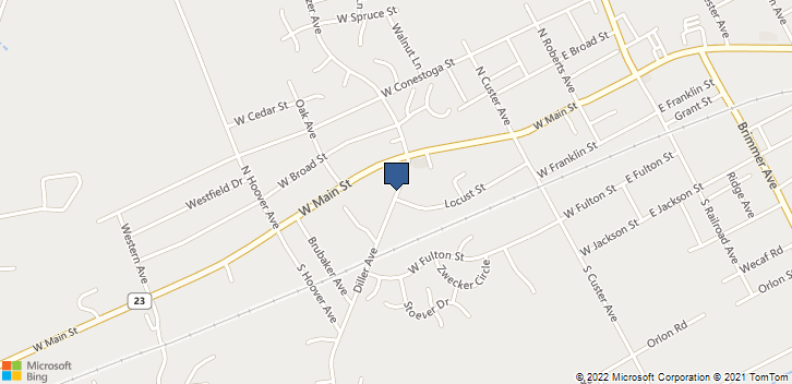 36 Diller Ave New Holland, PA, 17557 Map