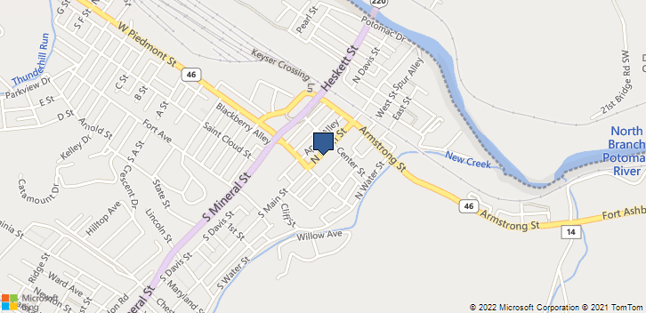 36 North Main St Keyser, WV, 26726 Map