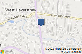 Bing Map of 36 S Route 9w West Haverstraw, NY 10993