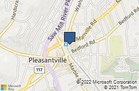 Bing Map of 36 Wheeler Ave Pleasantville, NY 10570