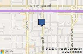 Bing Map of 3600 Common St Ste 300 Lake Charles, LA 70607