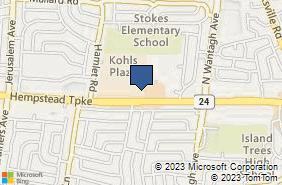 Bing Map of 3601 Hempstead Tpke Ste 203 Levittown, NY 11756