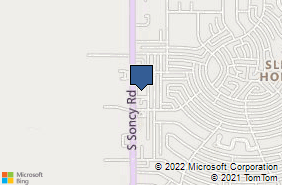 Bing Map of 3611 S Soncy Rd Ste 3a Amarillo, TX 79119