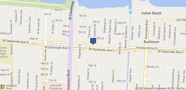 3616 North Labarre Road Metairie, LA, 70002 Map