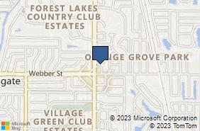 Bing Map of 3629 Webber St Ste A Sarasota, FL 34232