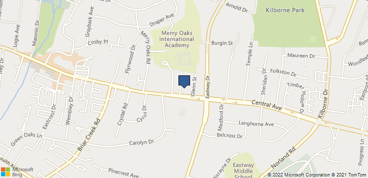 3641 Central Avenue Charlotte, NC, 28205 Map
