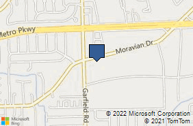 Bing Map of 36560 Moravian Dr Clinton Township, MI 48035