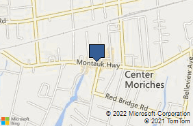 Bing Map of 369 Main St Center Moriches, NY 11934