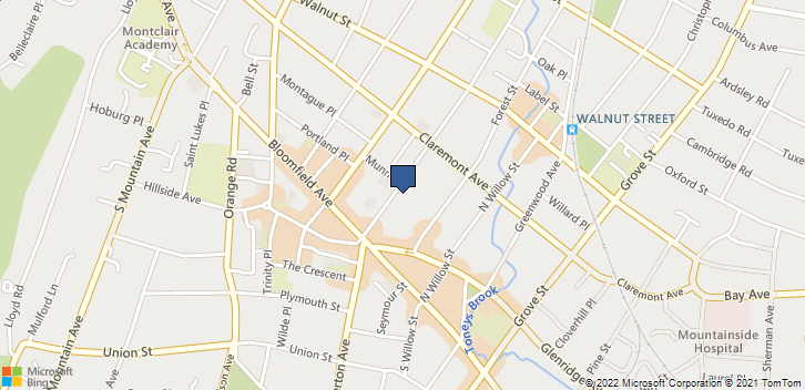 37 N Fullerton Ave Montclair, NJ, 07042 Map