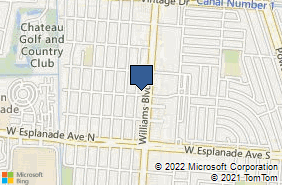 Bing Map of 3701 Williams Blvd Ste 240 Kenner, LA 70065