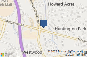 Bing Map of 3710 Morganton Rd Ste 104 Fayetteville, NC 28303