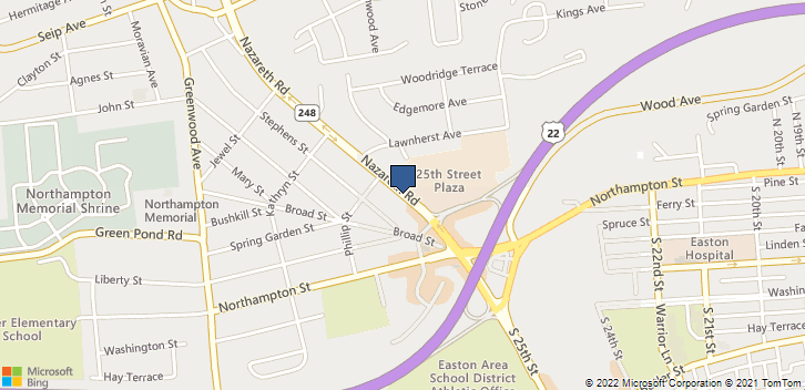 3735 Nazareth Rd Easton, PA, 18045 Map