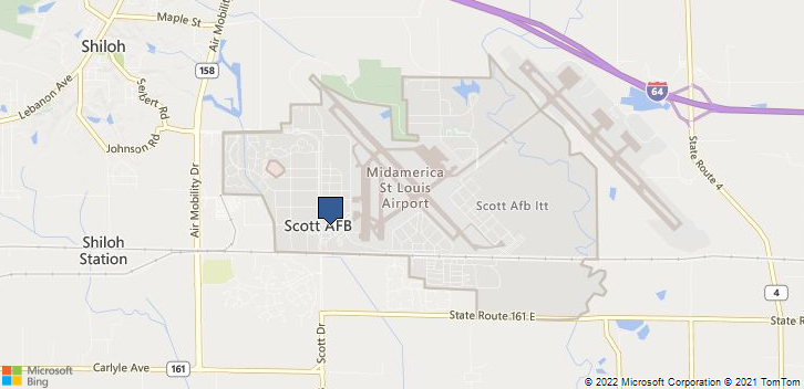 375 Mdg Scott Air Force Base, IL, 62225 Map
