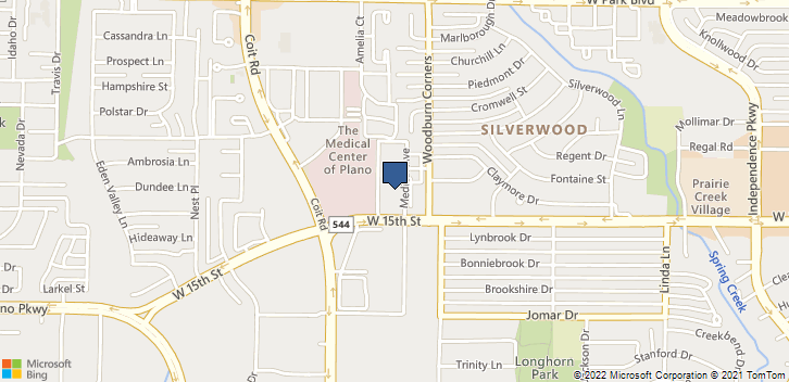 3801 W 15th St Plano, TX, 75075 Map