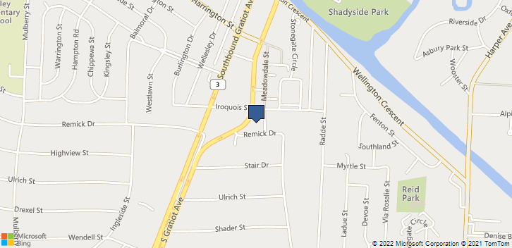 38132 S Gratiot Ave Clinton Twp, MI, 48036 Map