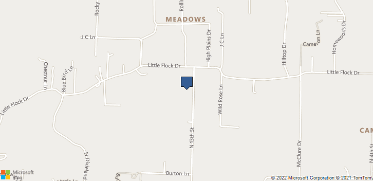 3820 N 13th St. Rogers, AR, 72756 Map