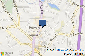 Bing Map of 3833 Roswell Rd Ne Ste 107b Atlanta, GA 30342