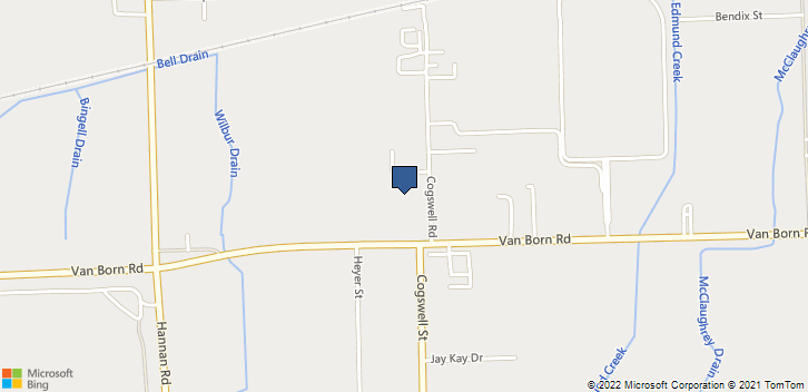 38500 Vanbourn Road Wayne, MI, 48184 Map