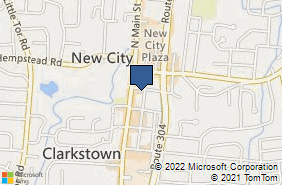 Bing Map of 39 Maple Ave New City, NY 10956