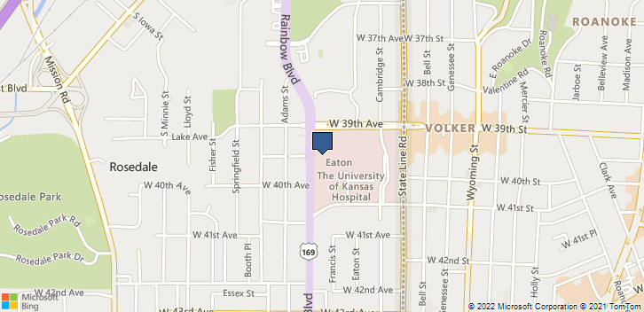 3901 Rainbow Blvd Kansas City, KS, 66160 Map