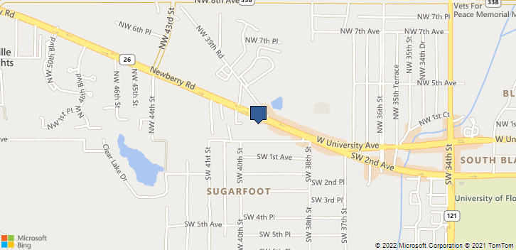 3919 W Newberry Road, Ste.4  Gainesville, FL, 32607 Map