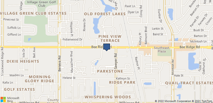 3920 Bee Ridge Rd Sarasota, FL, 34233 Map