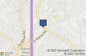 Bing Map of 39413 Los Alamos Rd Ste D Murrieta, CA 92563