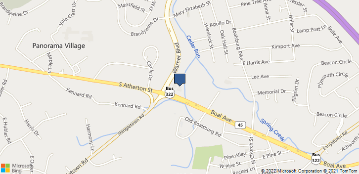 3949 South Atherton St.  State College, PA, 16801 Map