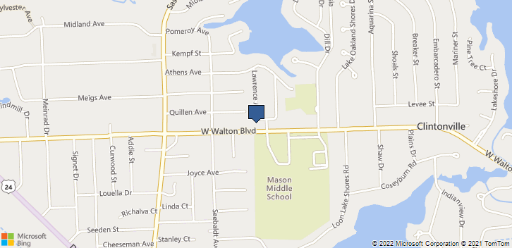 3950 W Walton Blvd Ste B Waterford, MI, 48329 Map
