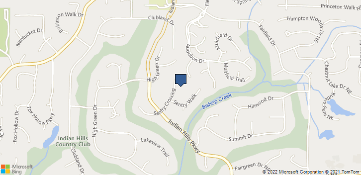 3970 Sentry Crossing, NE  Marietta, GA, 30068 Map