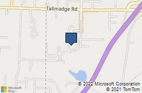 Bing Map of 3975 Cascades Blvd Unit 19 Kent, OH 44240