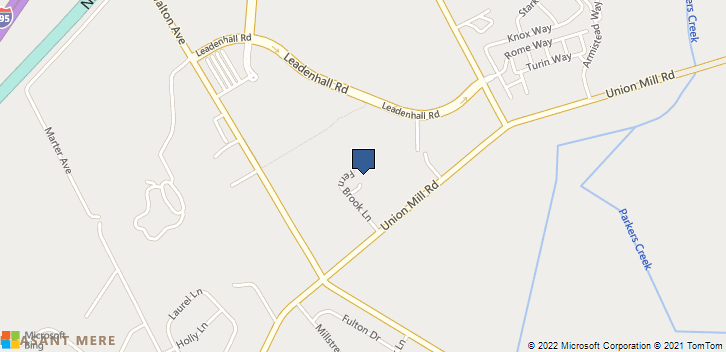 400 Fern Brook Ln Mt Laurel, NJ, 08054 Map