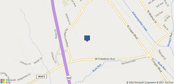 400 Highland Ave Dept Path Lewistown, PA, 17044 Map