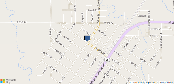400 W 6th St  Chelsea, OK, 74016 Map