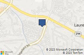 Bing Map of 4004 Genesee Pl Ste 205 Woodbridge, VA 22192