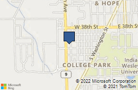 Bing Map of 4007 S Western Ave Marion, IN 46953