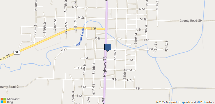 401 South 13th Street Tekamah, NE, 68130 Map