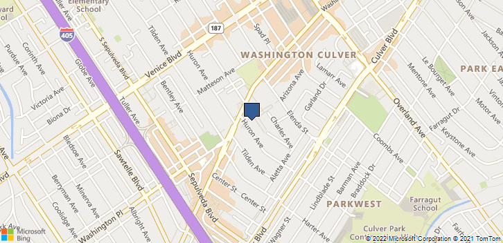 4024 Huron Ave Culver City, CA, 90232 Map