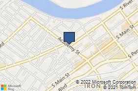 Bing Map of 403 S River St Wilkes Barre, PA 18702