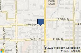 Bing Map of 403 W 8th St El Dorado, AR 71730