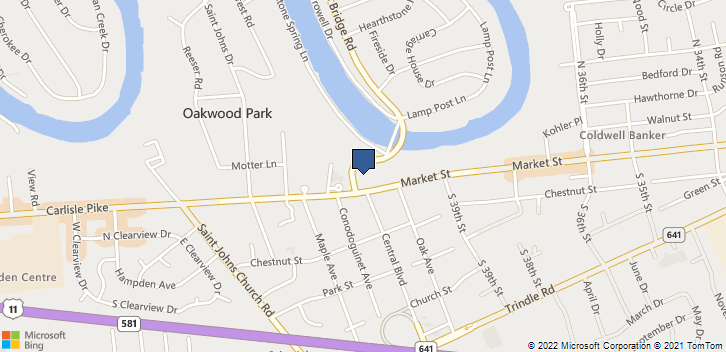4076 Market St Camp Hill, PA, 17011 Map