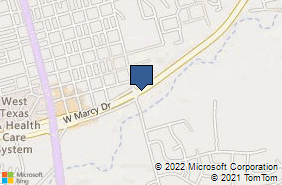 Bing Map of 408 E Fm 700 Big Spring, TX 79720