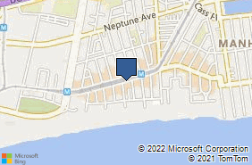 Bing Map of 410 Brighton Beach Ave Brooklyn, NY 11235